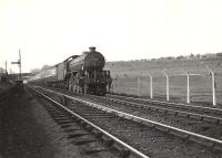 B1 4-6-0 61260 with a down train on Cowlairs incline in May 1954. <br><br>[G H Robin collection by courtesy of the Mitchell Library, Glasgow 18/05/1954]