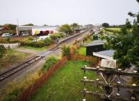 A comprehensive view of the Quainton Road preservation site from the North-West, including the transplanted Oxford Rewley Road station on the left. Ironically, a similar structure may now be needed at Oxford to shelter Chiltern Trains passengers arriving from London.<br><br>[Ken Strachan 23/09/2018]