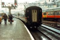 Gently does it, a 47 backs a train into platform 2 at Central.<br><br>[Ewan Crawford 26/11/1988]