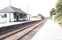 Arisaig Station in the mid 1990s<br><br>[John Gray //]