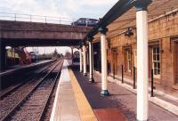 Corbridge looking west to Carlisle.<br><br>[Ewan Crawford /11/1997]