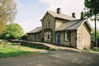 Barrasford station, now a Scout hall.<br><br>[Clive Barlow 25/05/2006]